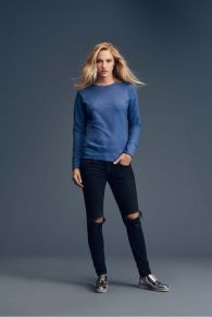 Anvil Crewneck Sweater French Terry for Her
