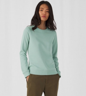 B&C Organic Crewneck Sweater Women