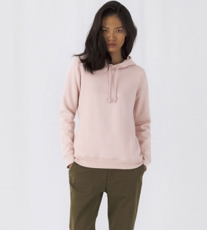 B&C Organic Hooded Sweater Women