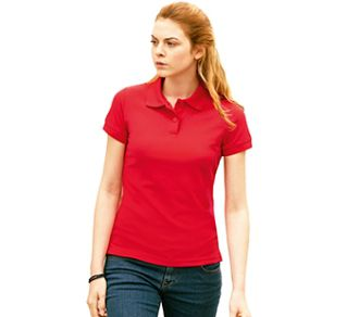 Fruit of the Loom 65/35 Ladies Polo