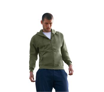 Fruit of the Loom Premium Hooded Sweat Jacket