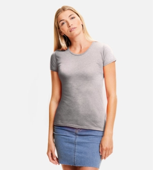 Fruit of the Loom Iconic T dames T-shirt ronde hals