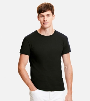 Fruit of the Loom Iconic T heren T-shirt ronde hals