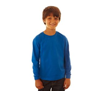Fruit of the Loom Kids Longsleeve Valueweight T-shirt