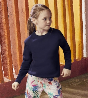 Fruit of the Loom Premium Set-In Sweat kinder Sweatshirt