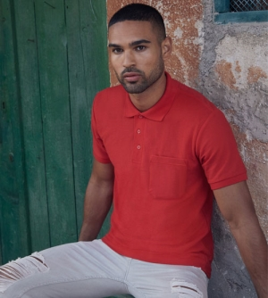 Fruit of the Loom Pocket Polo 65/35 heren Polo