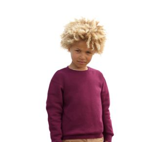 Fruit of the Loom Set-In Sweat Kids