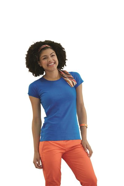 Fruit of the Loom T-shirt Lady-Fit Sofspun T