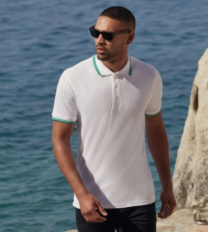 Fruit of the Loom Tipped Polo heren Polo