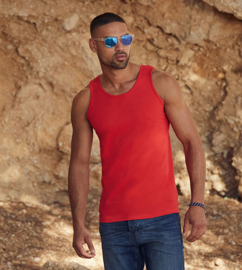Fruit of the Loom Valueweight athletic vest heren Tanktop