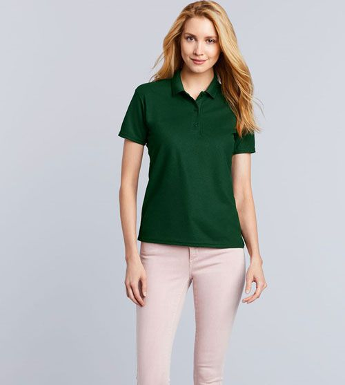 Gildan Performance Polo Double Pique SS For Her