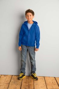 Gildan Sweater Hooded Full Zip for Kids