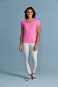 Gildan T-shirt Deep Scoop Softstyle for her