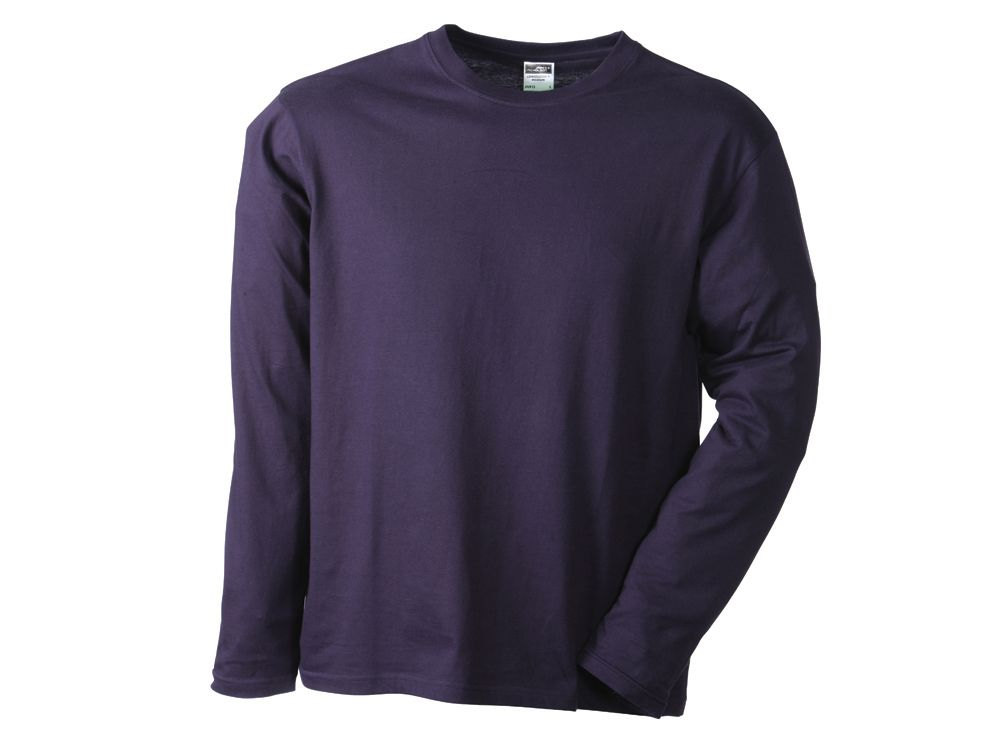 James nicholson t shirt men 39 s long sleeve medium for Mens medium long sleeve shirts