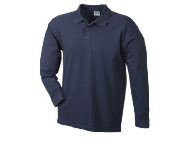Polo Pique Heavy Long Sleeved