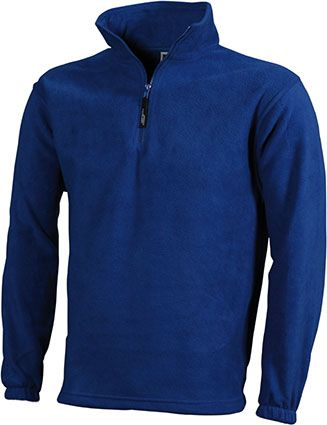 James & Nicholson Half-Zip Fleece