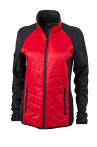 James & Nicholson Ladies Hybrid Jacket