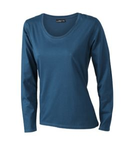 James & Nicholson T-shirt Ladies Long Sleeve Medium