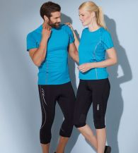 James & Nicholson Ladies Running Reflex-T