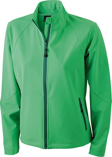 James & Nicholson Ladies Softshell Jacket