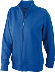 James & Nicholson Ladies Sweat Jacket