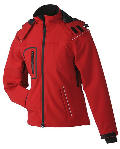 James & Nicholson Ladies Winter Softshell Jacket