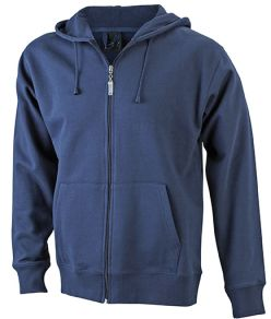 James & Nicholson Men's Hooded Sweat Jacket