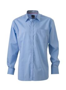 James & Nicholson Men's Plain Shirt