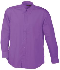 James & Nicholson Men's Promotion Shirt Long Sleeved