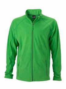 James & Nicholson Men's Structure Fleece Jacket
