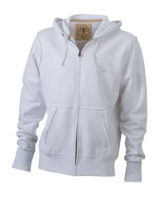 James & Nicholson Men's Vintage Zip-Hoody