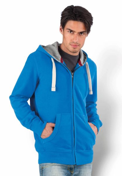 Kariban Hooded Sweater met rits