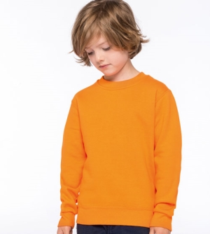Kariban Sweater met Ronde hals kinder Sweatshirt