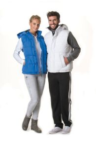 Lemon&Soda Unisex Hooded Bodywarmer