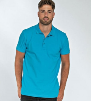 Lemon & Soda Basic Cotton Elastane heren Polo
