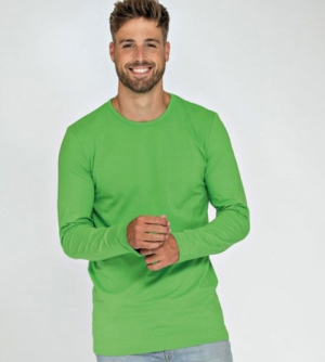 Lemon & Soda Cotton Elastane Longsleeve heren T-Shirt