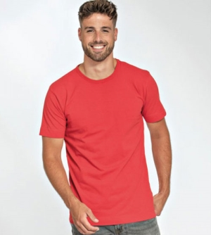 Lemon & Soda Cotton Elastane heren T-Shirt ronde hals