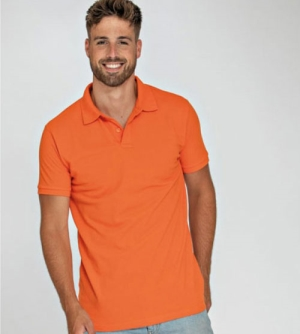 Lemon & Soda Heavy Mix Fit heren Polo