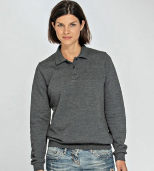 Lemon & Soda Polosweater dames Polo Sweatshirt