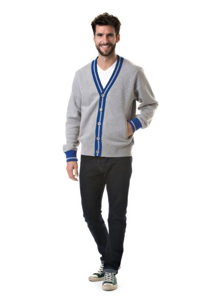 Lemon & Soda Sweater Cardigan College Unisex