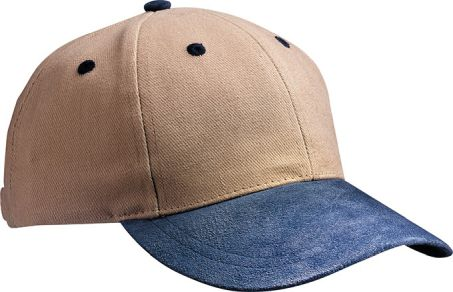 Myrtle Beach 6 Panel Cap with Suede Peak