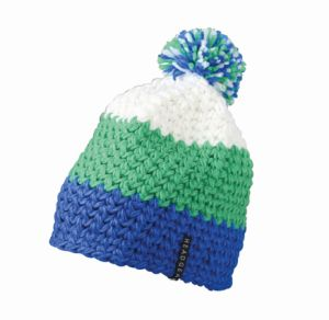 Myrtle Beach Crocheted Cap With Pompon