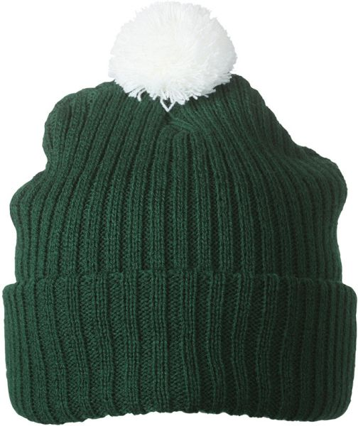 Myrtle Beach Knitted Cap With Pompon