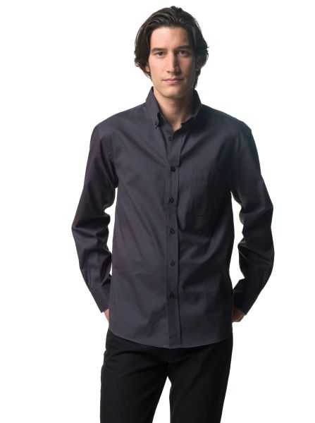 Russell Collection Men's Classic Twill Shirts LS