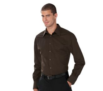 Russell Collection Men's LSL Tencel Fitted Shirt