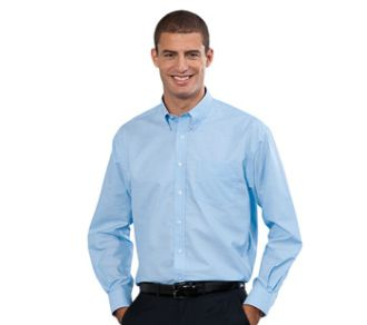 Russell Collection Men's Oxford Shirt LS