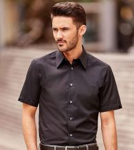 Russell Collection Men's SS Tencel Fitted Shirt