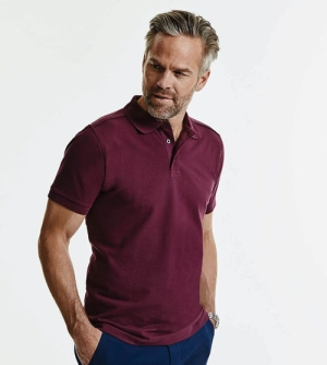 Russell Tailored Stretch heren Polo