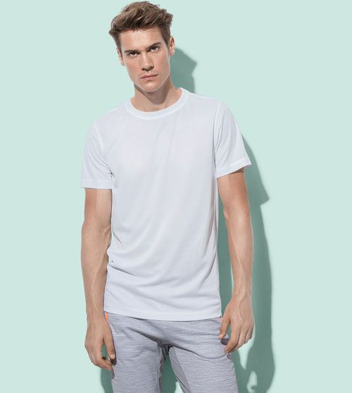 Stedman T-shirt Set-In Mesh Active-Dry SS