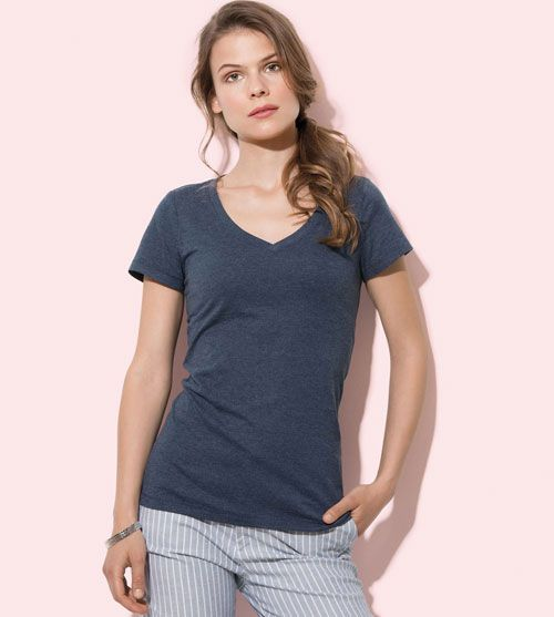 Stedman T-shirt V-Neck Lisa SS For Her